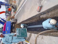 岐阜県可児市広美 下水管敷設工事