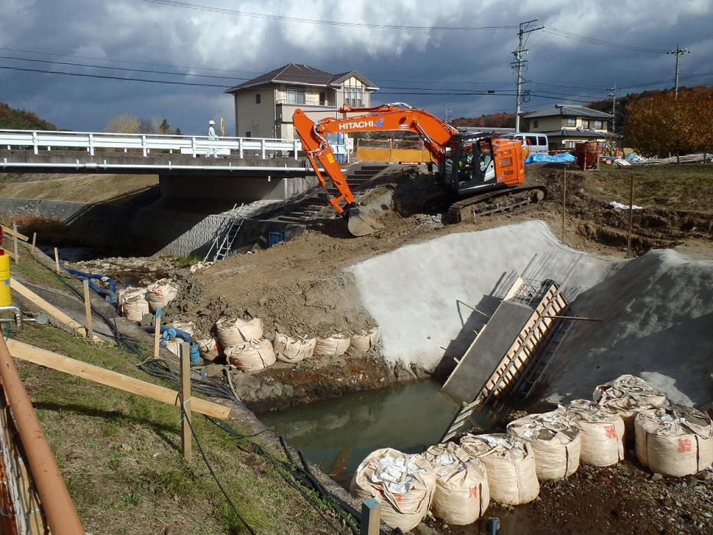 可児市塩地内送水管布設工事
