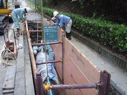 県水送水管布設状況