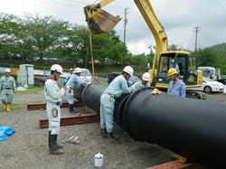県水送水管布設工事