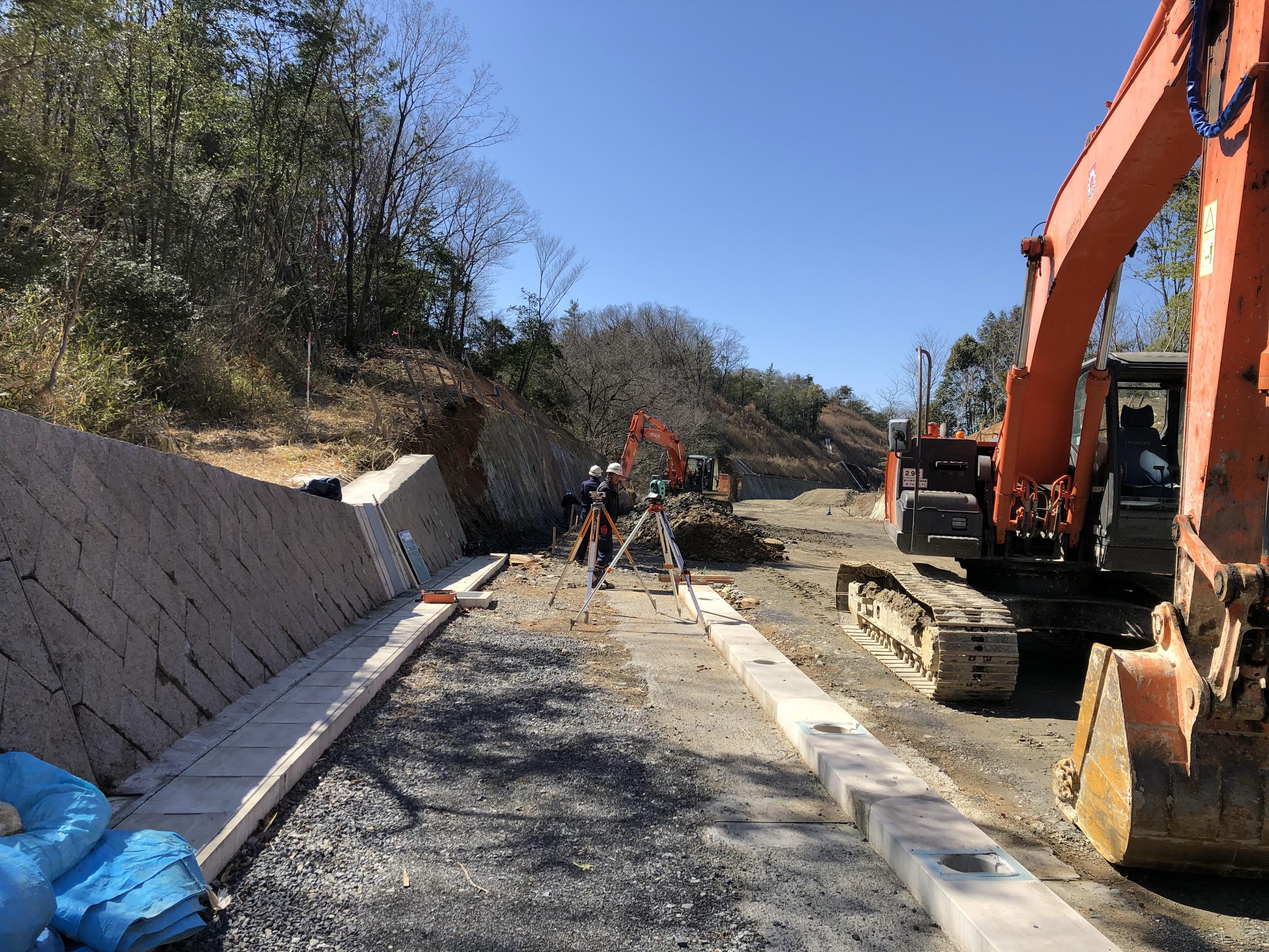 二野地内道路改良工事