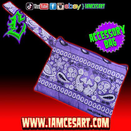 Lavender Accessory Bag