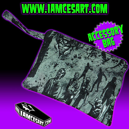 Zombies Gray Accessory Bag