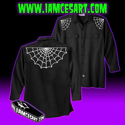 Spiderweb Mens Work Shirt