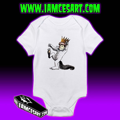 Max Where the wild things are Onesie