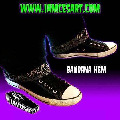Black Bandana Hem