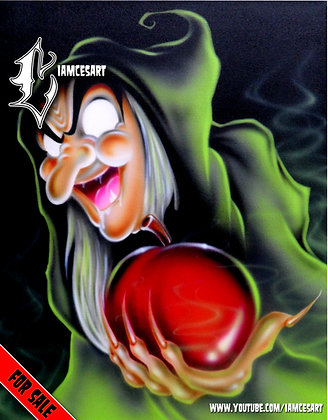 Rotten Apple with a Coat of Candy