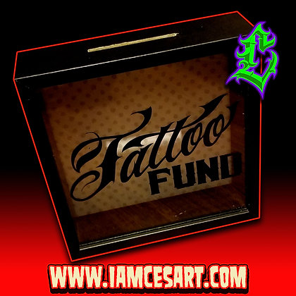 Tattoo Fund Money Bank