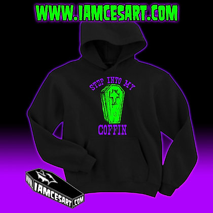 Step into my Coffin Hoodie
