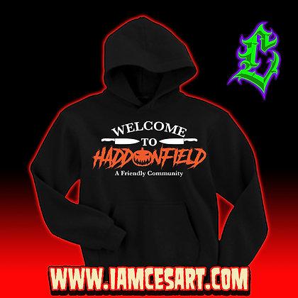 Welcome to Haddonfield Hoodie