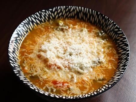 Podzimní hustá zeleninová polévka