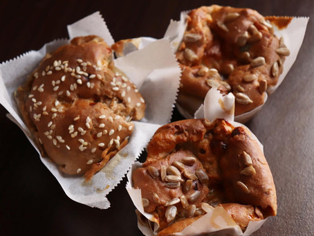 Sýrové muffiny s cuketou
