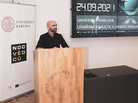 Přednáška z Noci vědců - MUDr. Tomáš Soukup, Ph.D.