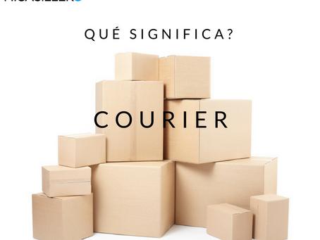 Qué significa Courier?