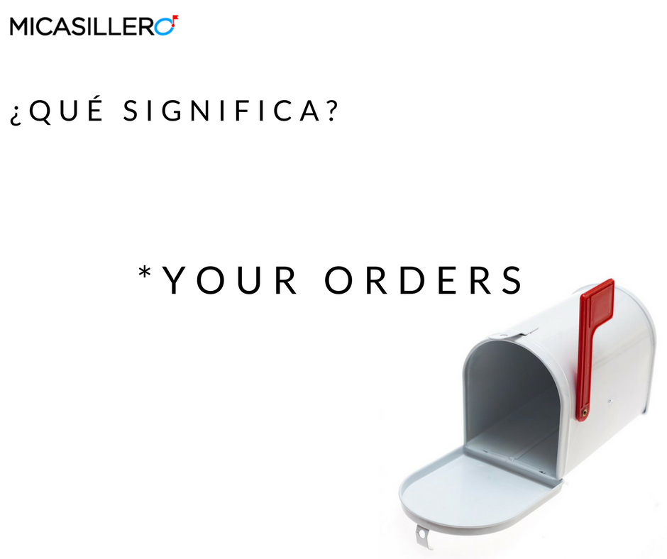 Your Orders
