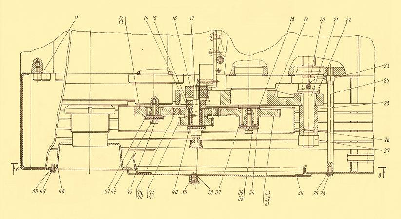 Коробка передач 16К20