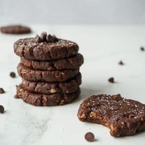 Fudgy Double Choc No Bake Cookies