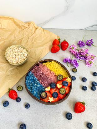 Rainbow Oatmeal