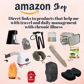 Amazon Influencer Shop Positivelychronictravels