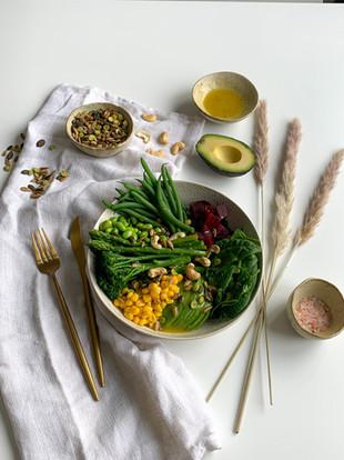 5 min Plant Based Nourish Bowl