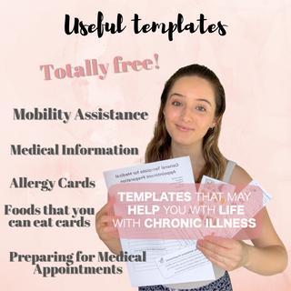 Useful Templates for Chronic Illness