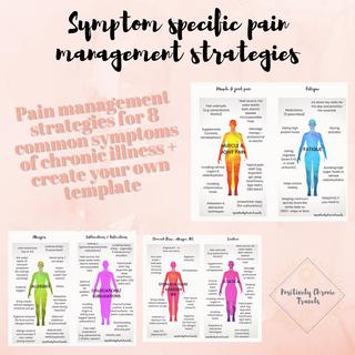 Symptom Specific Pain Management Strategies
