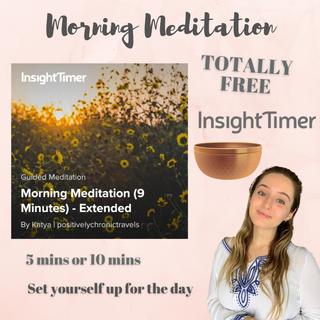 Morning Visualisation Meditation