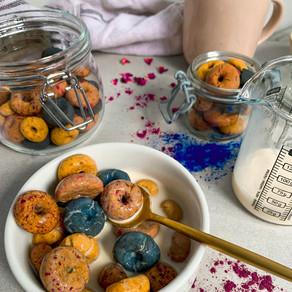 Fruit Loops {refined sugar free, gluten free & vegan}