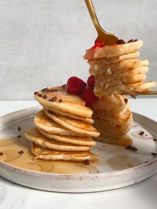 Vegan GF American Pancakes