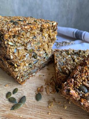 Seedful gluten & yeast free loaf
