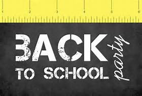 Back To School Bash Invitation