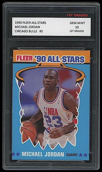 MICHAEL JORDAN 1990-91 FLEER '90 ALL-STAR INSERT