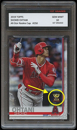 SHOHEI OHTANI TOPPS ALL-STAR ROOKIE CUP