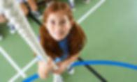 corde d'escalade fille
