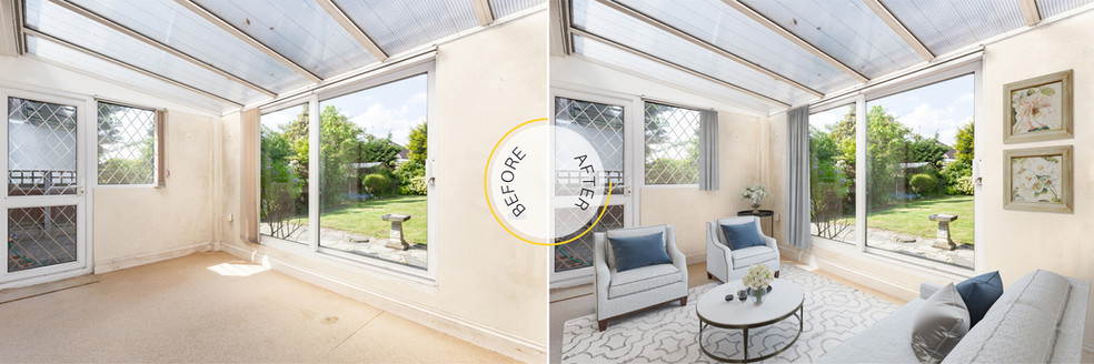 Conservatory Virtual Staging