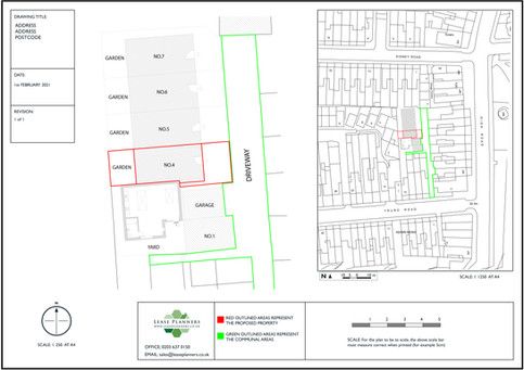Land Registry Title Plan Example