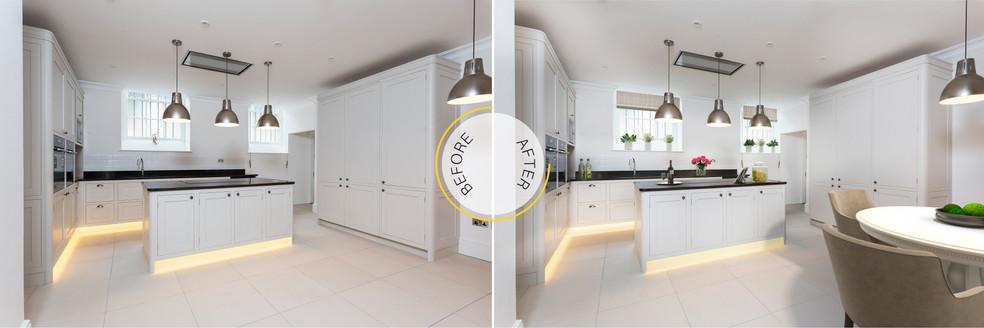 Interior Kitchen Virtual Staging