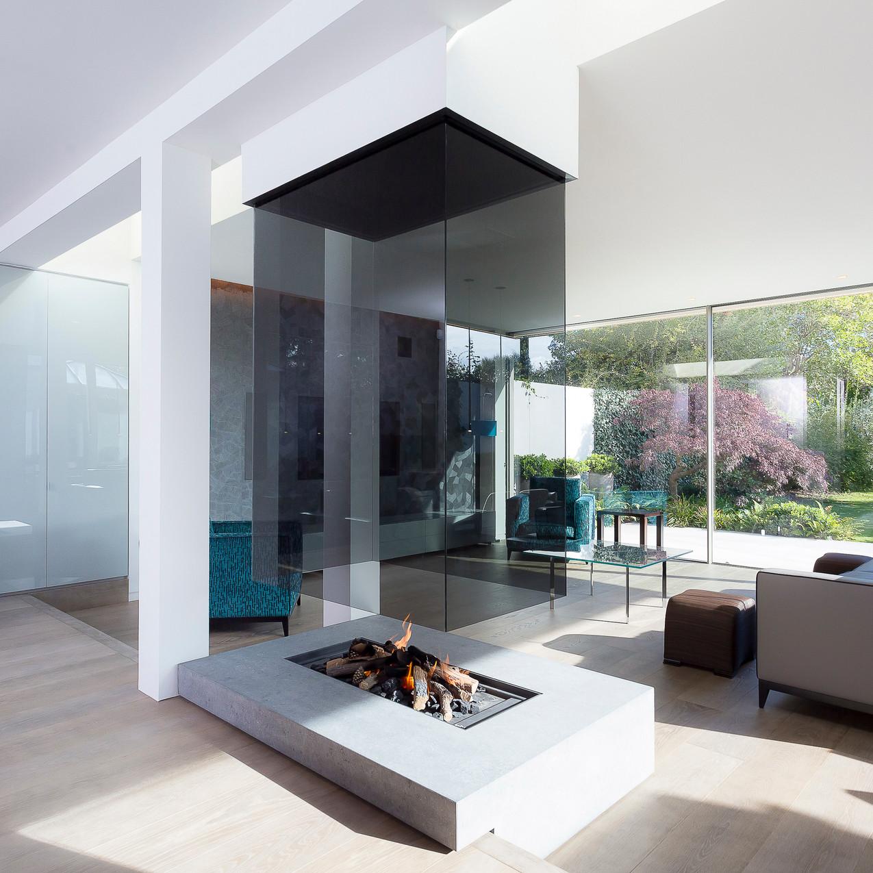 Fire Living Room, Shepherd's Bush, London