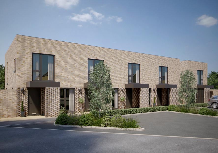 Houses CGI - Abode Phase 2, Trumpington_