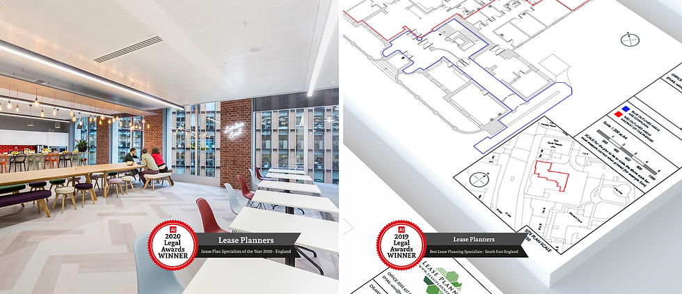 Office space & lease plan example