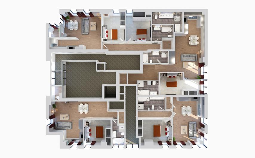 CGI Commercial Floorplan