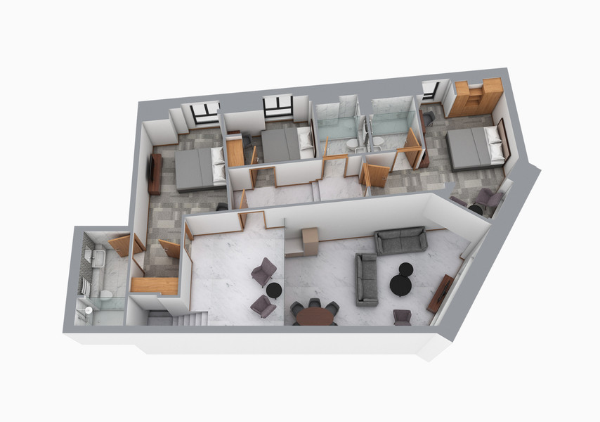 CGI Residential Floorplan