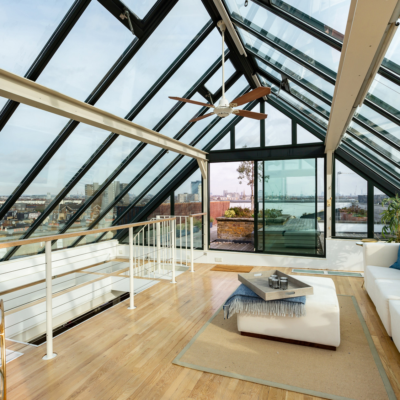 Living, Glass, Hammersmith and Fulham, London
