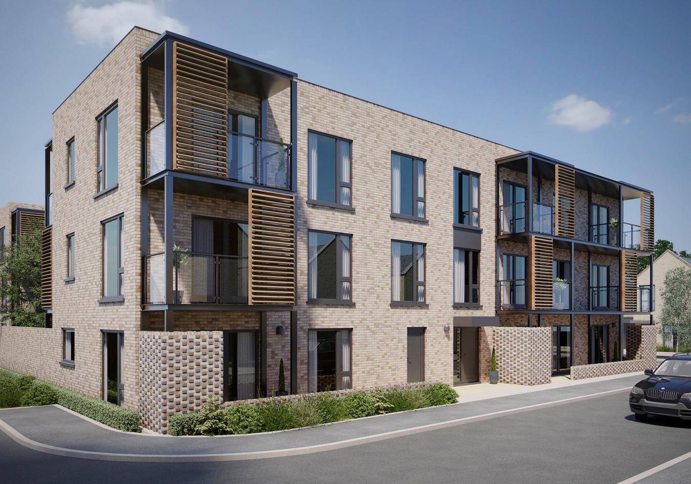 Apartments CGI - Abode Phase 2, Trumping