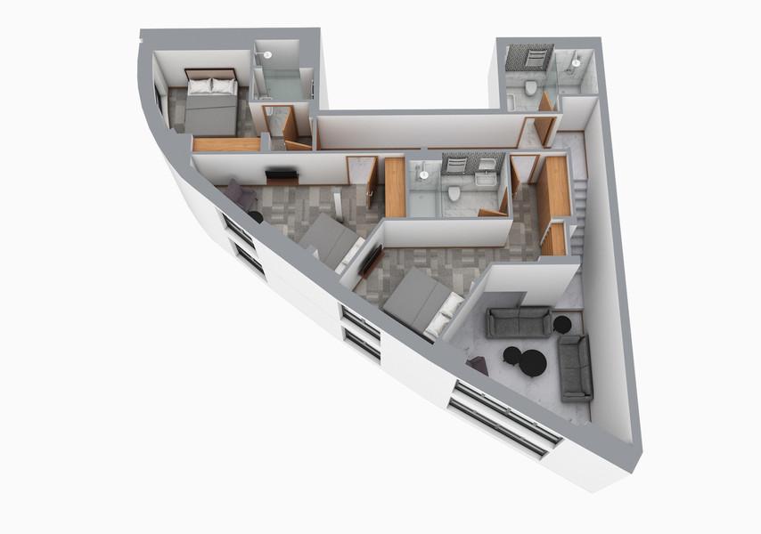 CGI Floorplan