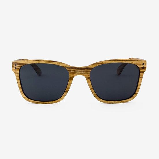 Flagler - Adjustable Wood Sunglasses