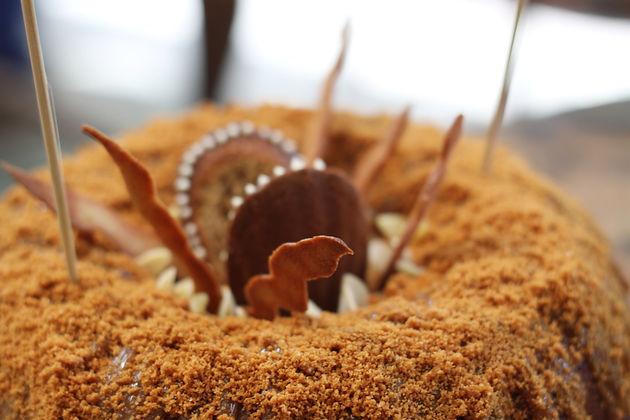 Sarlacc Pit Birthday Cake