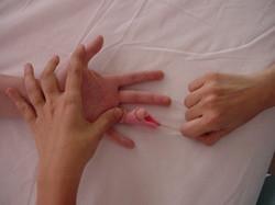 Movimentação de dedo