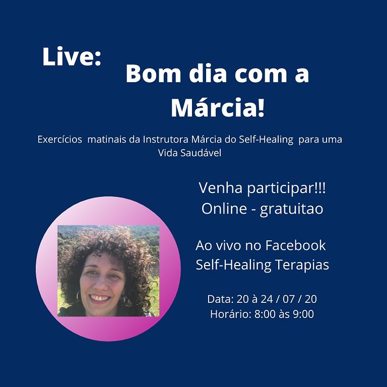 Live: Bom dia com a Márcia!