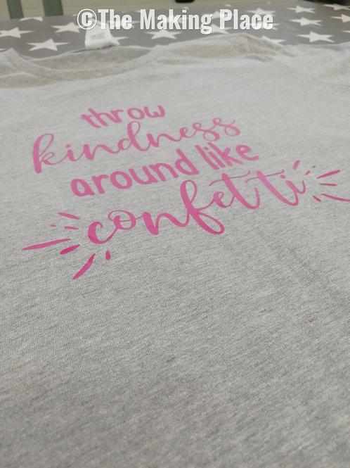 'Throw Kindness Around' T-Shirt (Ladies M)
